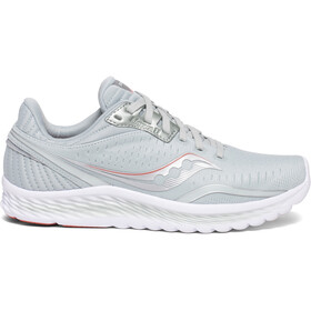 saucony Kinvara 11 Shoes Women sky grey/coral